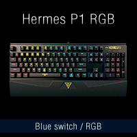 Teclado mecánico gaming Hermes P1 gamdias comprar barato