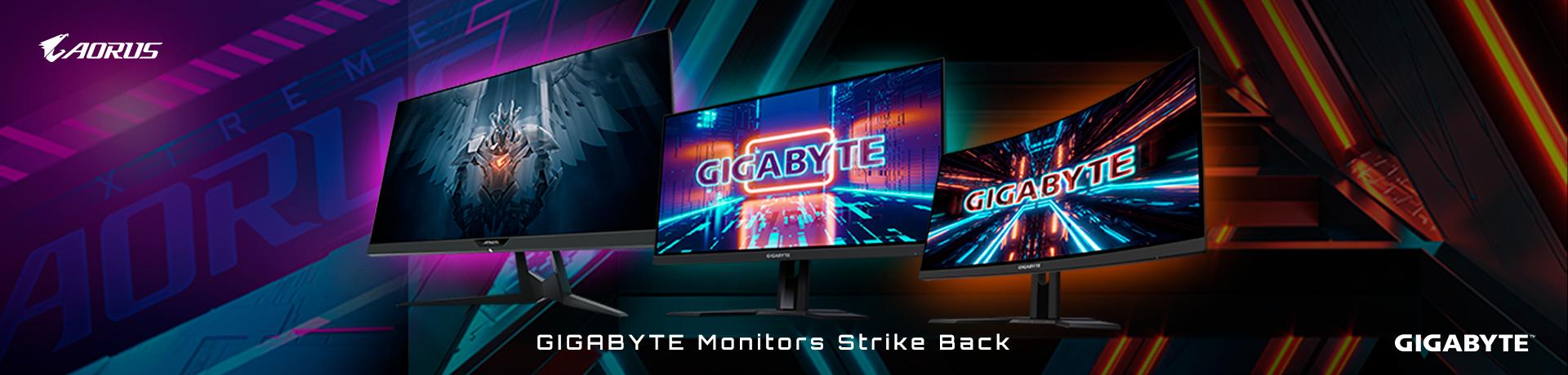 Monitores Gigabyte Aorus para jugar a lo más bestia