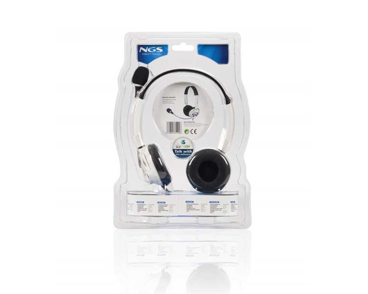 AURICULAR NGS MSX6PRO WHITE