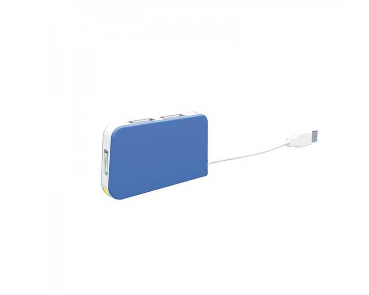 HUB 4 PUERTOS USB TRAVEL BLUE APPROX