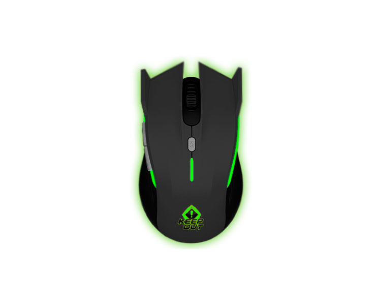 KEEPOUT GAMING OPTICAL MOUSE XPOSEIDON GREY
