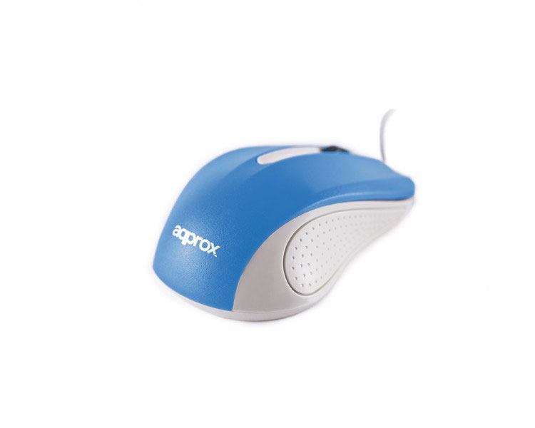 MOUSE OPTICO LITE BLUE APPROX