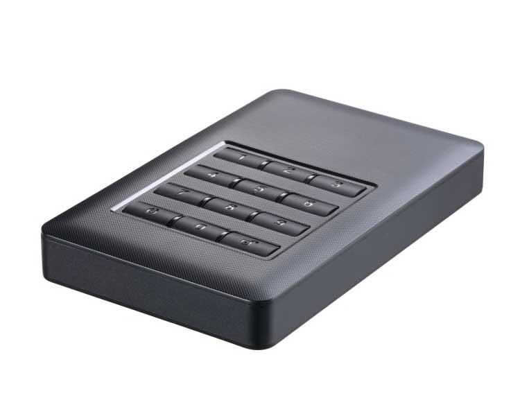 CAJA EXTERNA USB 2.5'' SATA 3.0 CIFRADA BLACK TOOQ