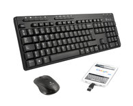TECLADO + RATON + ADAPTADOR OTG WIRELESS EPSILON KIT NGS