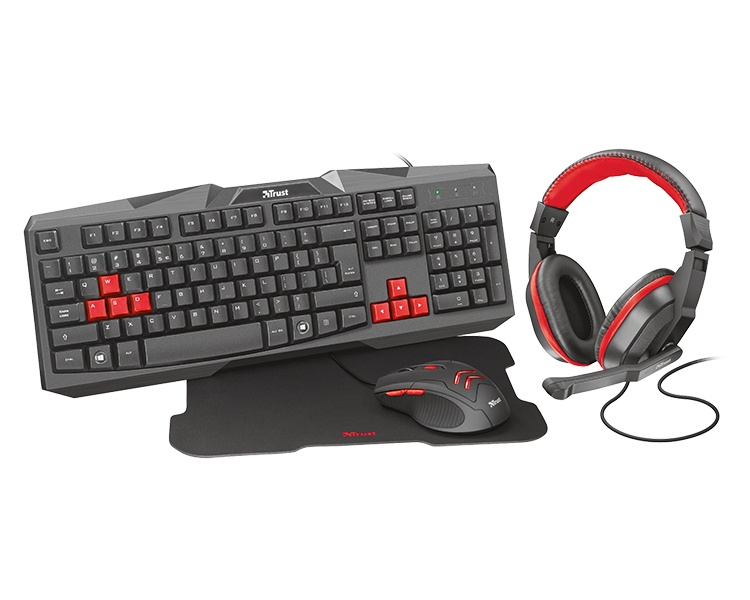 KIT GAMING ZIVA 4 EN 1 TRUST