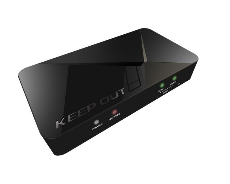 KEEPOUT CAPTURADORA GAMER HD SX300