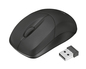 RATON OPTICO INU SMALL WIRELESS BLACK TRUST