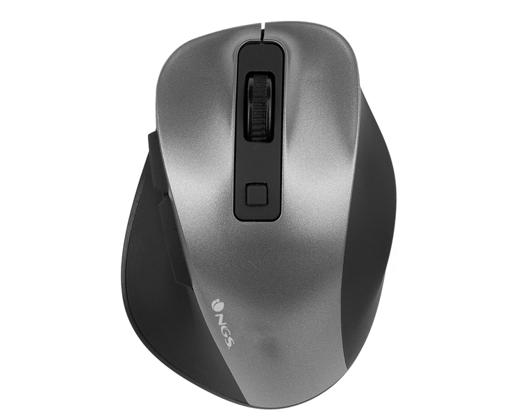 MOUSE BOW MINI OPTICO WIRELESS GREY NGS