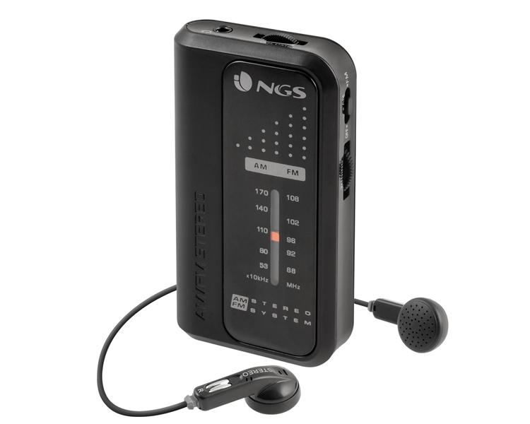 RADIO KNOCK ANALOGICA BLACK NGS