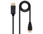 CONVERSOR DISPLAYPORT A HDMI 5 M BLACK NANOCABLE
