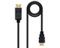 CONVERSOR DISPLAYPORT A HDMI 5 M BLACK NANOCABLE