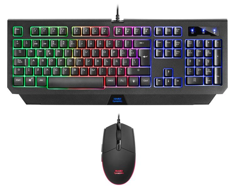 KIT COMBO PACK MCP100ES MARS GAMING