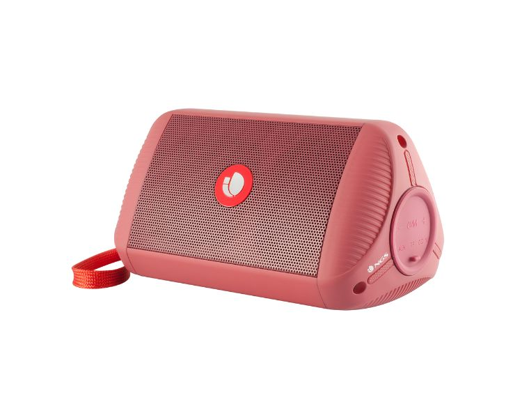 ALTAVOZ BLUETOOTH ROLLER RIDE RED NGS