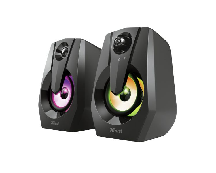 ALTAVOCES ZIVA ILLUMINATED RGB BLACK TRUST