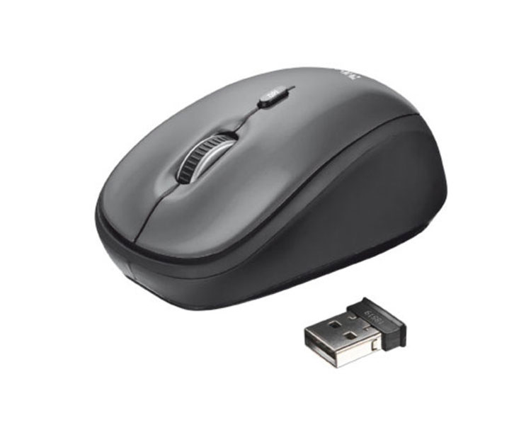RATON OPTICO YVI WIRELESS BLACK TRUST