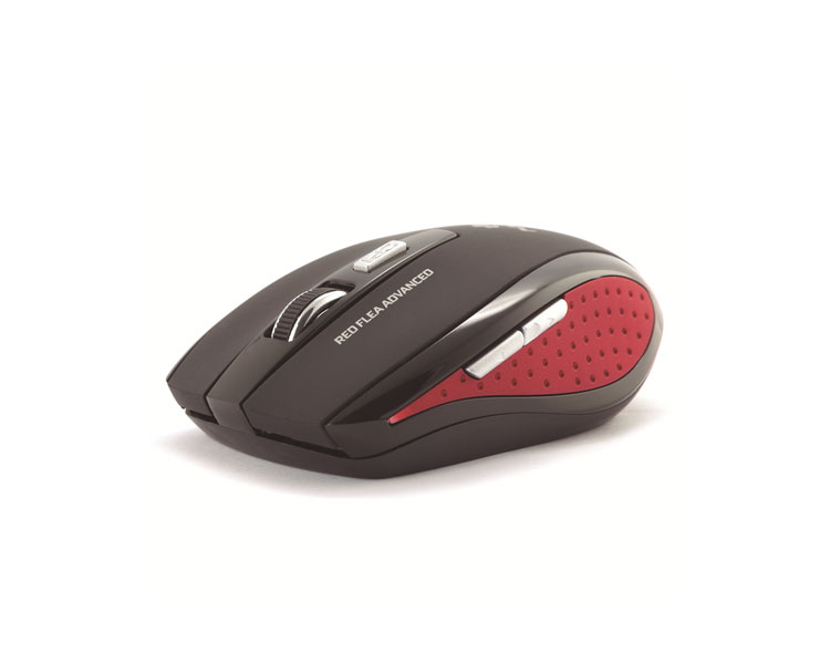 MOUSE NOTEBOOK WIRELESS FLEA ADVANCED RED NGS