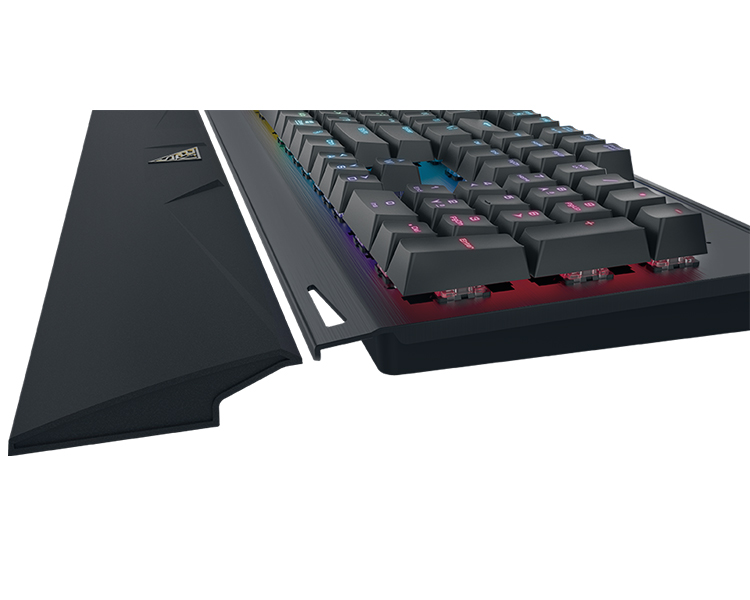 TECLADO MECANICO GAMING BLUE SWITCH HERMES P1 RGB GAMDIAS