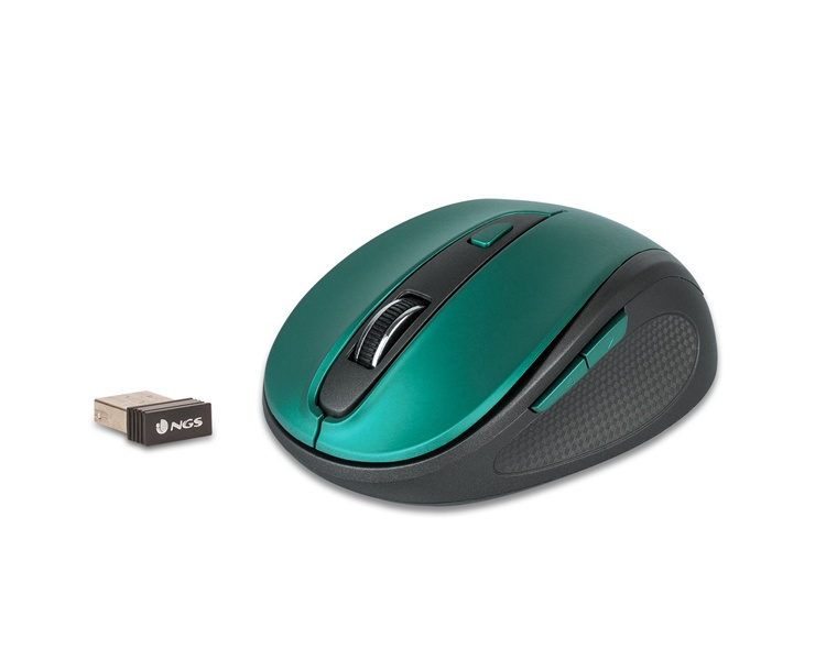 MOUSE EVO MUTE WIRELESS BLUE NGS