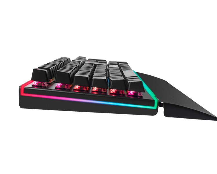 TECLADO GAMING MARS OPTICO-MECANICO RED SWITCH RGB