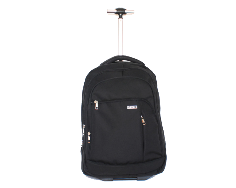 MOCHILA TROLLEY 2WHEELS CITY BLACK SUBBLIM