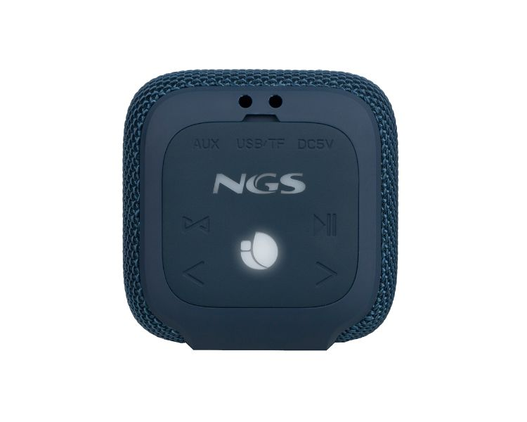 ALTAVOZ BLUETOOTH ROLLER COASTER BLUE NGS