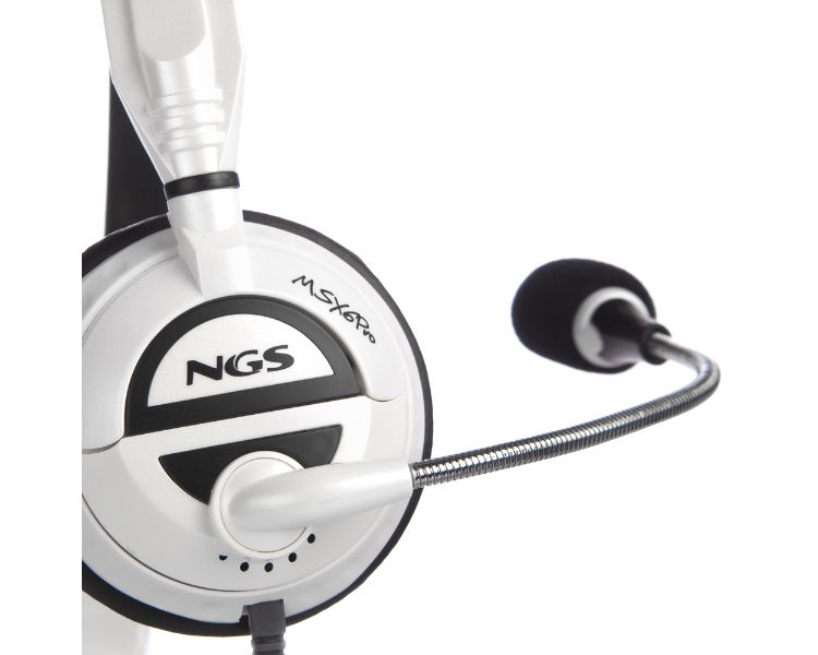 AURICULAR MSX6 PRO WHITE NGS