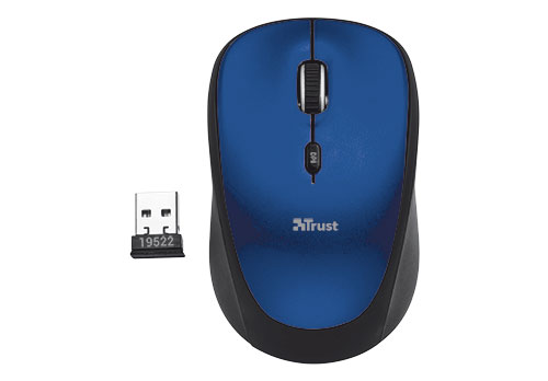 RATON OPTICO YVI WIRELESS BLUE TRUST