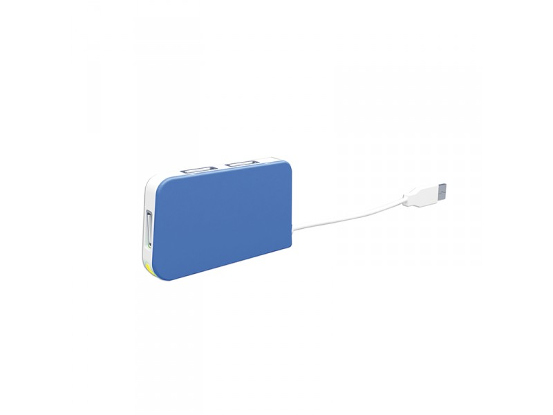 HUB 4 PUERTOS USB TRAVEL BLUE APPROX