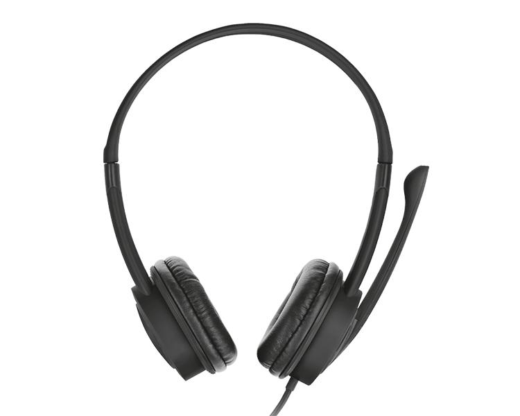 AURICULAR MAURO BLACK USB HEADSET TRUST
